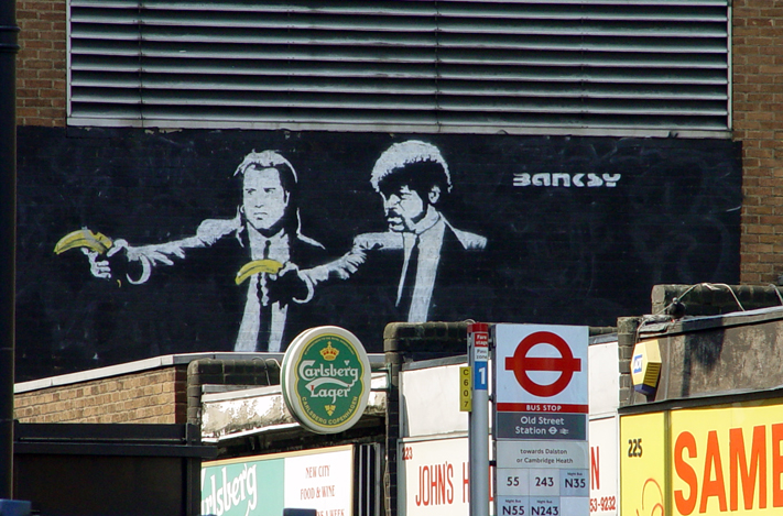 ロンドンでBanksyに出会った日